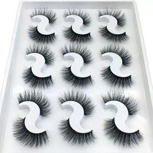 6D Mink Black Eye Lashes Makeup Women Eyelashes